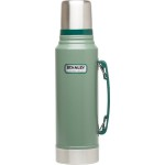 Stanley-Classic-Vacuum-Insulated-thermos-Bottle-1.1qt-Hammertone-Green