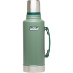Stanley-Classic-Vacuum-Insulated-thermos-Bottle-2qt-Hammertone-Green